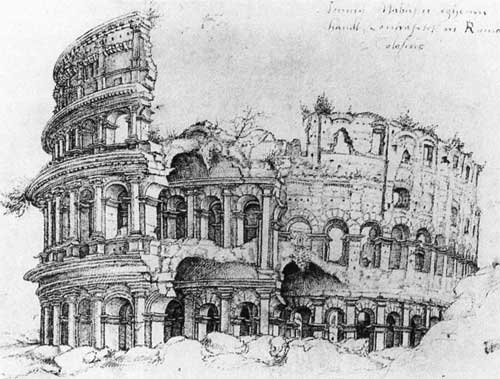 The Colosseum, 1519